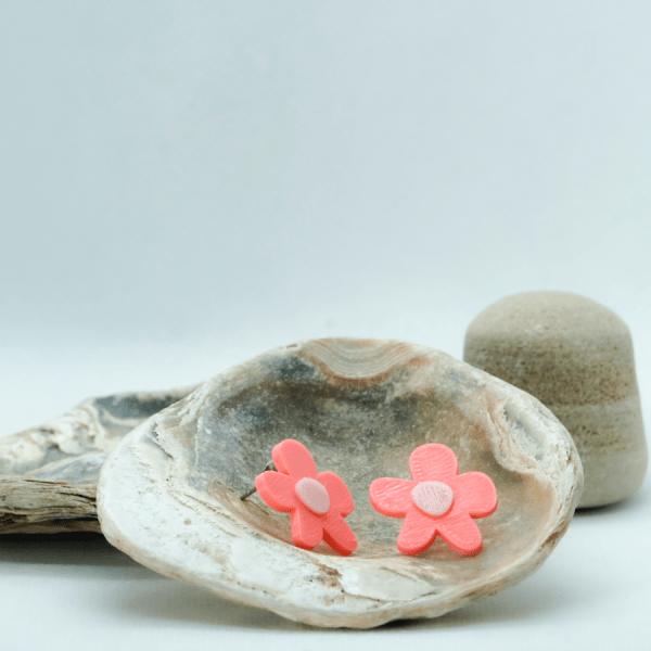 Pendientes Crazy Flower Rosa