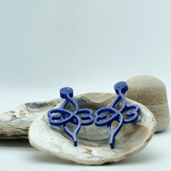 Pendientes Nunchic Azules